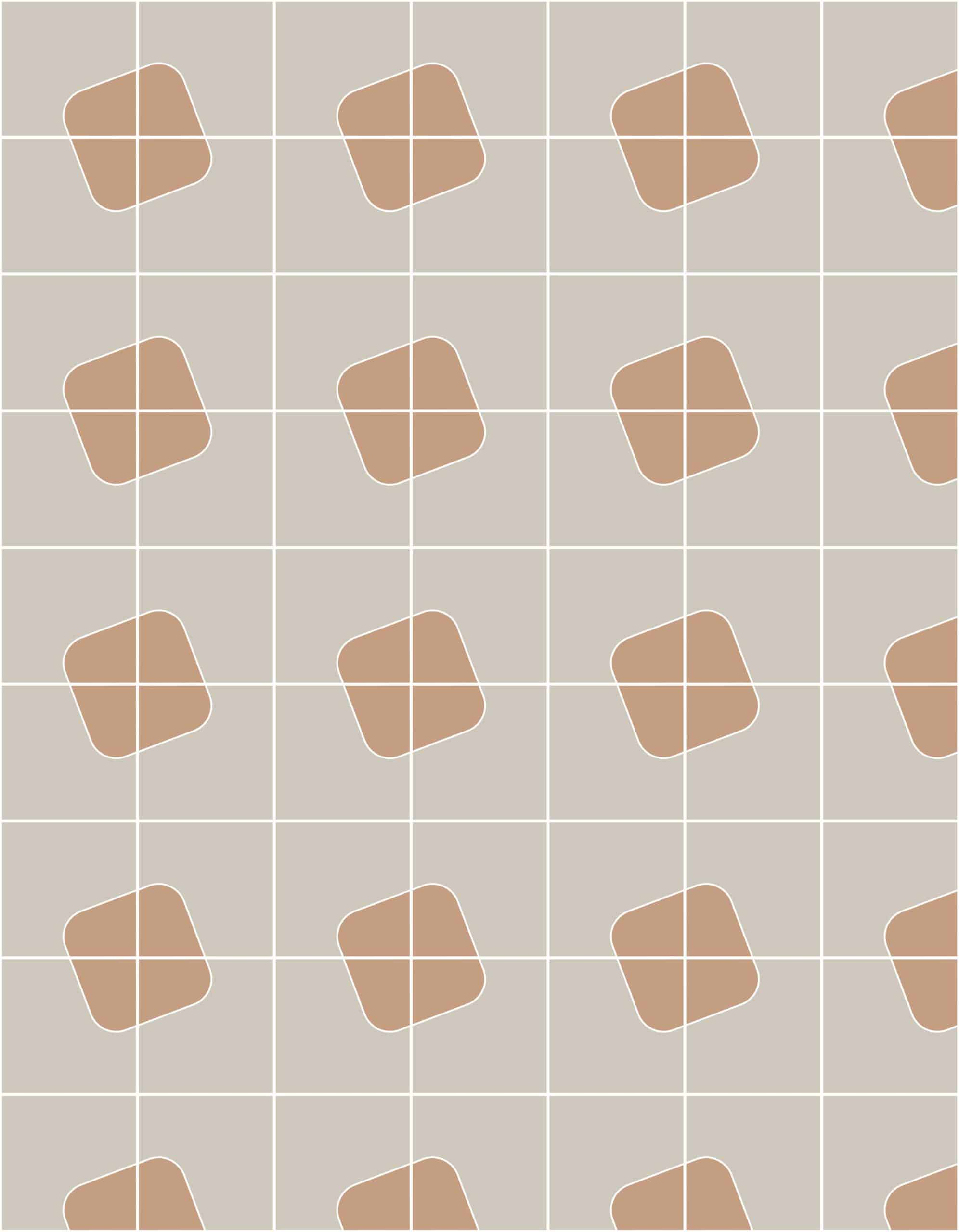 Quilt Chalk Cameo Tiles