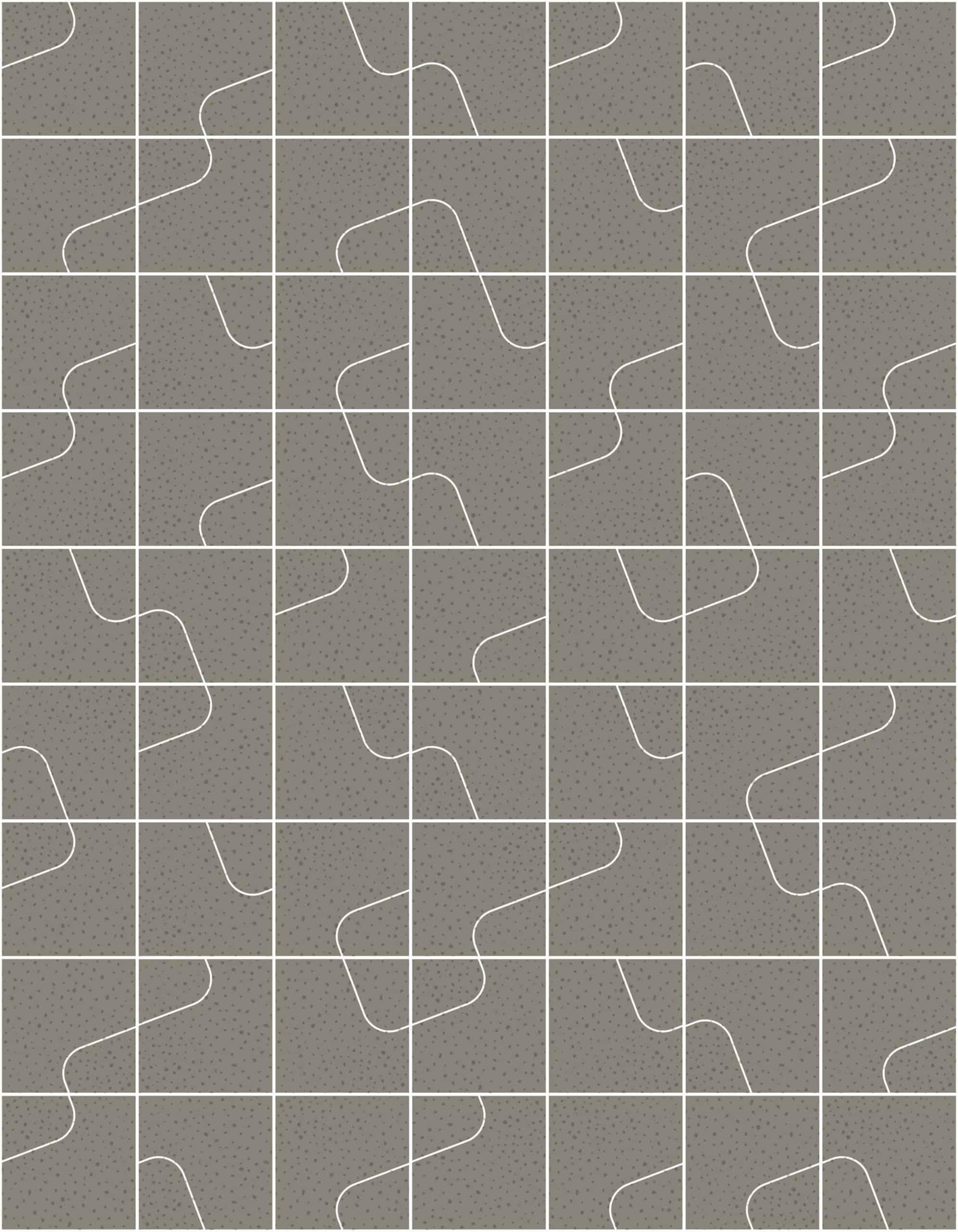 Quilt Mud Raw Tiles